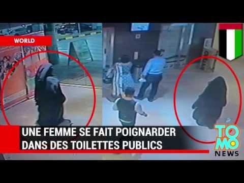 Une américaine à Abu Dhabi s'est fait poignarder dans les toilettes d'une galerie marchande