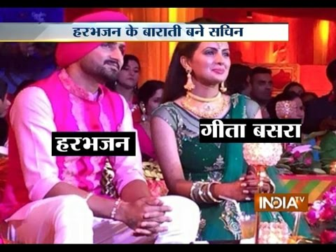 Indian Cricketer Harbhajan Singh and Geeta Basra Wedding Ceremonies Kick Off - India TV