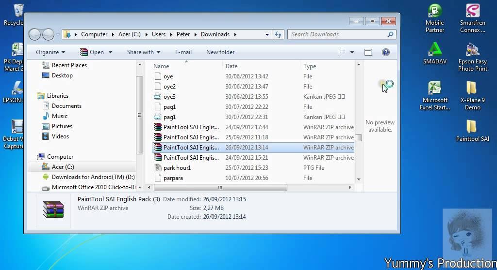 Download Paint Tool Sai Terbaru