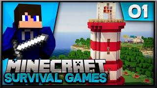 Minecraft Survival Games! Episode 1 | Fresh New Start