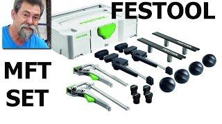 Festool MFT FX Set | How to | Barry the pug | dave stanton