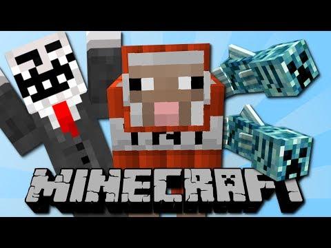 Lustiger Minecraft Film mit vielen Mods!