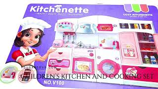 CHILDREN'S KITCHEN AND COOKING SET ON YOUSAFTOYS.COM