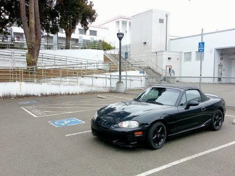 2000 Mazda Miata MX-5 NB LS LSD 180 J Turns Donuts