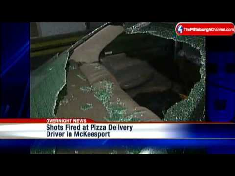 Shots Fired At Pizza Delivery Driver's Car In McKeesport