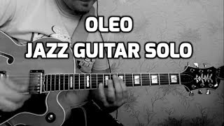 Oleo jazz guitar cover