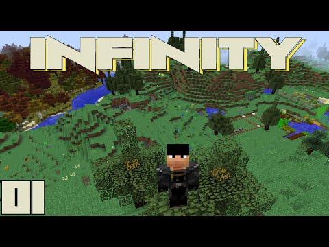 Minecraft Mods FTB Infinity - IT BEGINS [E01] (HermitCraft Modded Server)