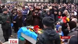 У Житомирі попрощалися з бійцем батальйону Донбас Вадимом Антоновим - : 1:03