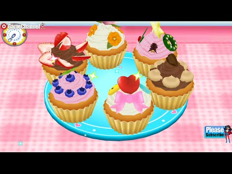 COOKING MAMA Let's Cook Cup Cake making Cooking games for kids Android İos Free Game VİDEO