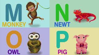 ABC Phonics Song with Animals   Curated Nursery Rhymes & Kids Songs   Toddler Songs   Baby Songs