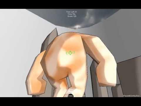 進撃の巨人 立体起動装置のゲームやってみた!○´艸`)