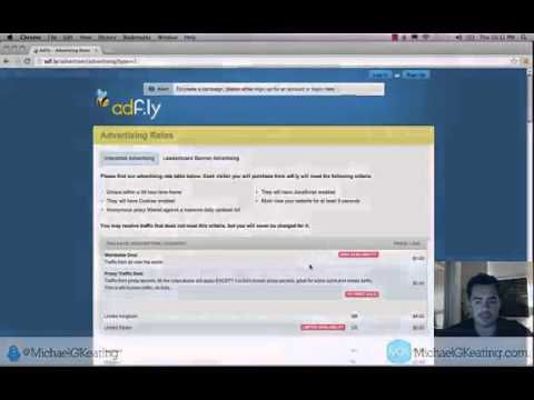 AdFly Advertising Review The Traffic Came Pouring In 2014