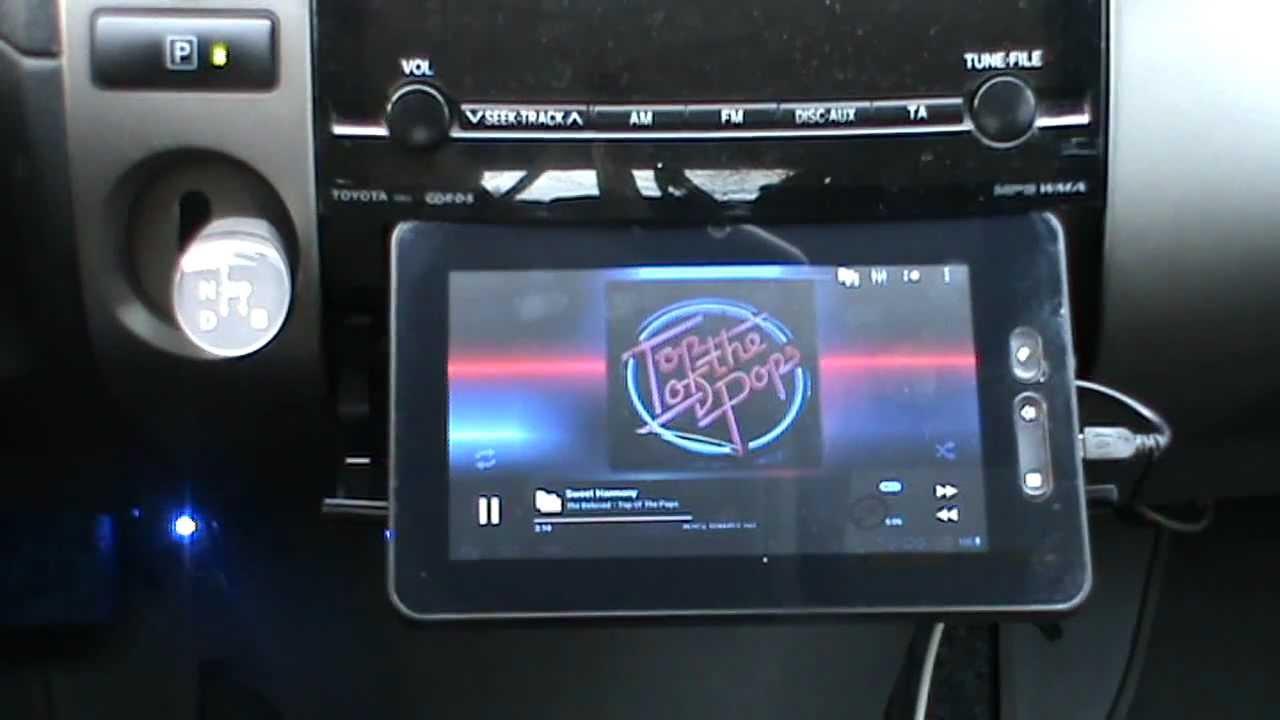 Бортовой компьютер из планшета на андроиде своими руками 33