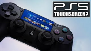 New Sony Patent Hints At Touchscreen on PS5 Controller