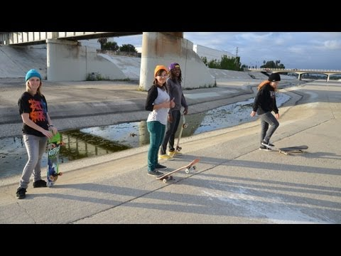 Blog Cam #54 - 605 Ditch &amp; Downey Skatepark