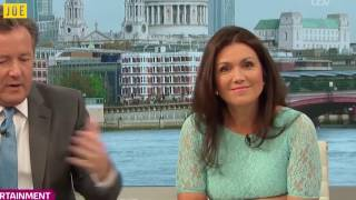 Susanna Reid dies a little inside every time Piers Morgan opens his mouth...