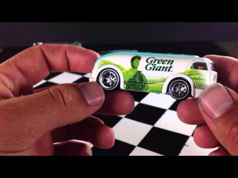 Hot Wheels 2013 Pop Culture General Mills Green Giant Haulin Gas