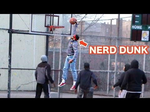 Nerds Play Basketball In The Hood Like A Boss!