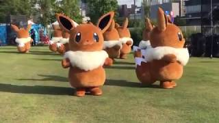 Eevee Cute Pokemon Dance