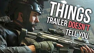 COD: Modern Warfare 2019 - Things the Trailer DOESN'T Tell You