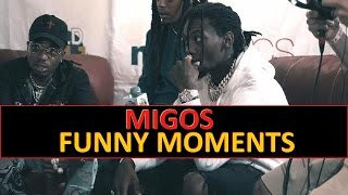 Migos FUNNY MOMENTS Part 1 (BEST COMPILATION)