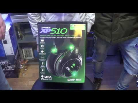 Unboxing Turtle Beach Ear Force XP 510 HD ITA