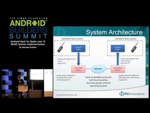Android Builders Summit 2013 - Android Built for Radio over IP