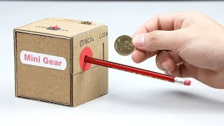 How to Make Coin Box with Pencil Sharpener