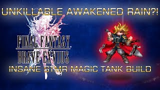 FFBE: 7* Awakened Rain INSANE Build!
