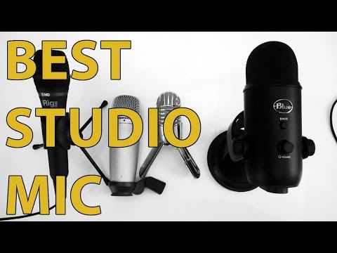 BLUE Yeti vs iRig MIC HD vs Samson METEOR vs Samson C01U - Mega Studio Mic Review