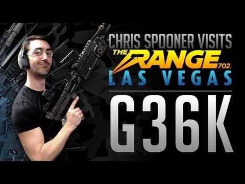 G36K : Firing Real Guns in Vegas!