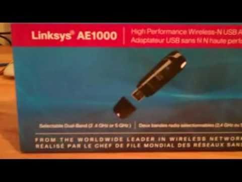 Linksys AE1000 wireless adapter