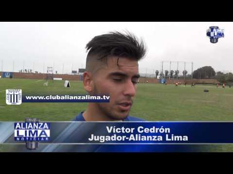 """Víctor Cedrón: """"Quiero ser campeón con Alianza, para eso he venido"""""""
