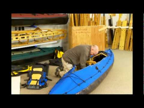 Long Haul Folding Kayaks.Mark II Disassembly Part 1