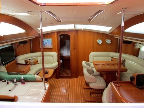 Jeanneau 54 Deck Salon Sailboat For Sale in California Interior Walkthrough By: Ian Van Tuyl