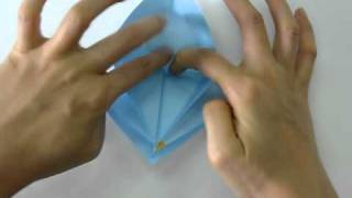 How To Make - Origami Crane.avi