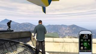 GTA 5 HOW TO GET TO THE TOP OF MAZE BANK FOR DOM'S MISSION