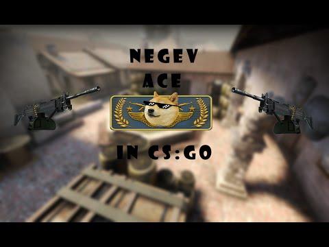 Negev ace in CS:GO