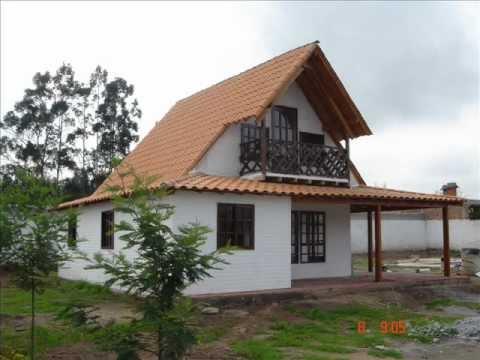 Casas prefabricadas tipo cabañas