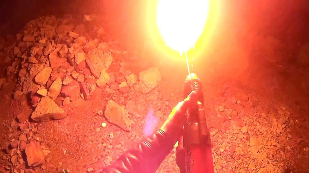 Мощный огнемет своими руками