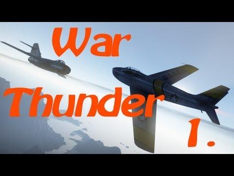 Warthunder - 1. díl - už zase piloti? /w h3mik