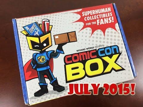 Comic-con Box July 2015