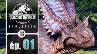 [FR] Jurassic World Evolution gameplay ép. 1 – Campagne complète (let's play)