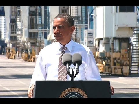 President Obama Speaks on Infrastructure and the Economy