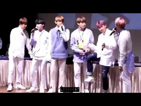 [HD Fancam] 170225 BTS Funny Dance @ Sinchon Fansign 방탄소년단:3