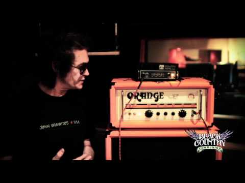 Black Country Communion Behind the scenes - Glenn Hughes Rig