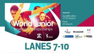 Singles Squad B Lanes 710 World Bowling Junior Championships