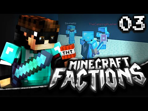 Minecraft Factions: Episode 3 - THIS IS A TNT CANNON?