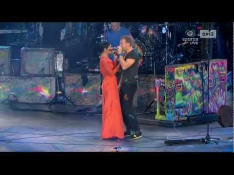 Coldplay And Rihanna - Princess Of China Live At Paralympics Games 2012 London Hd Best Performance video