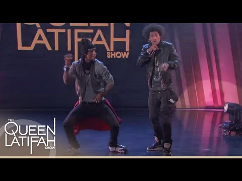 Les Twins Show Off Their Moves | The Queen Latifah Show
